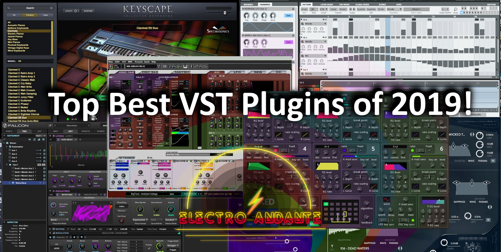 Top Best VST Plugins of 2019!