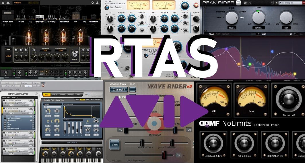 free rtas plugins for pro tools