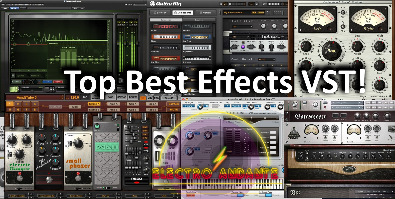Top Best VST Effects !